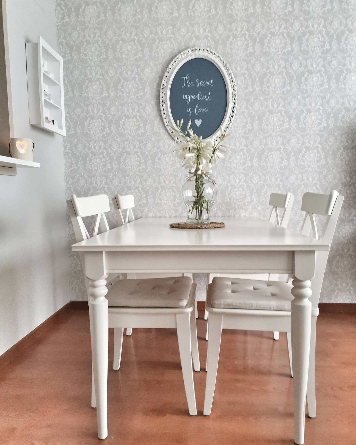 Cottage Dining Room Wall Decor Ideas -our.loved.place