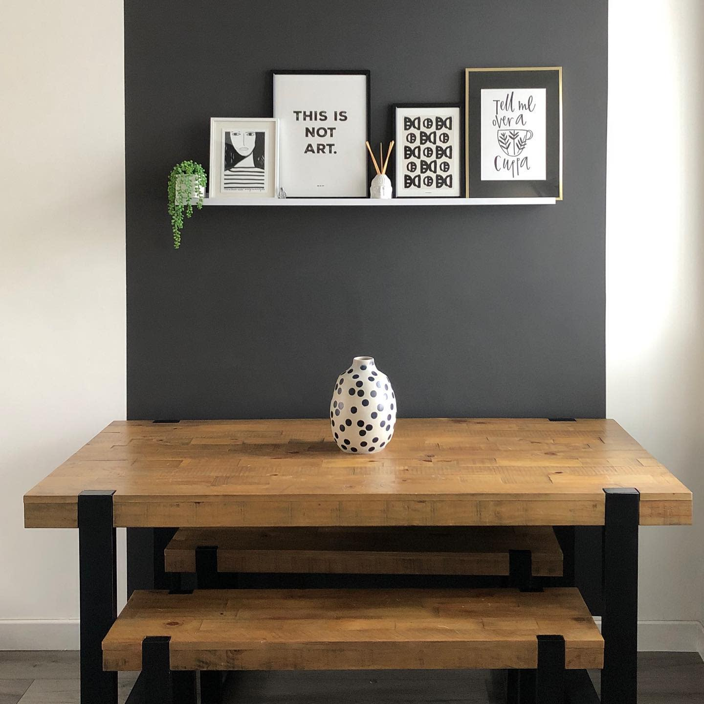 Paint Dining Room Wall Decor Ideas -through_the_lane