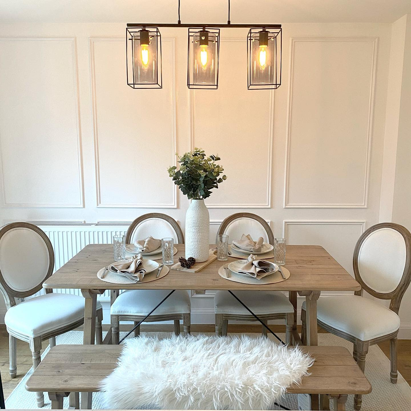 Panelling Dining Room Wall Decor Ideas -interiorby_ab