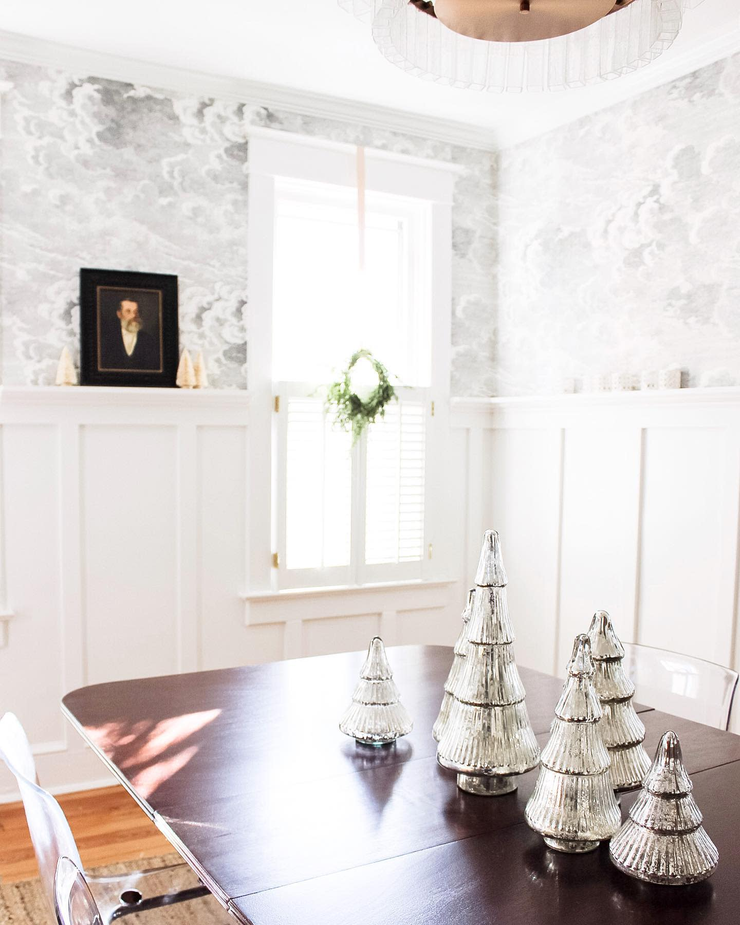 Wallpaper Dining Room Wall Decor Ideas -champagneandsawdust