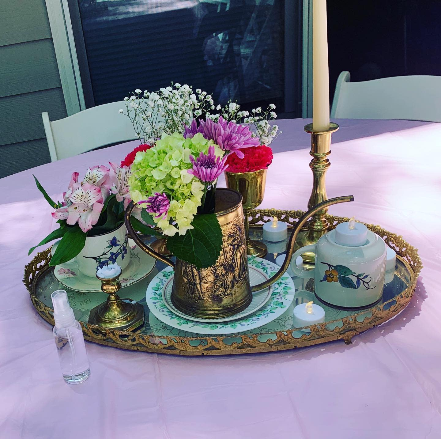 Vintage Dining Table Centerpiece Ideas -abletoparty