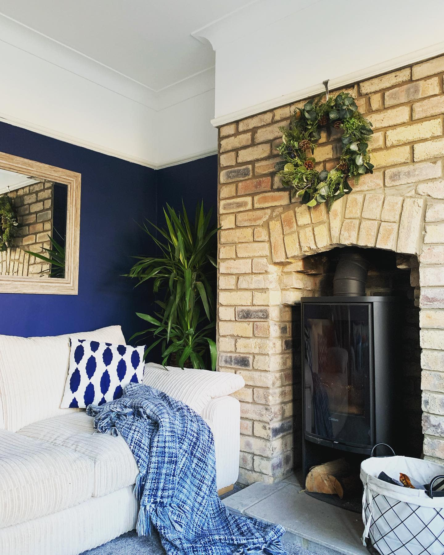 Brick Fireplace Hearth Ideas -home_on_the_crescent_