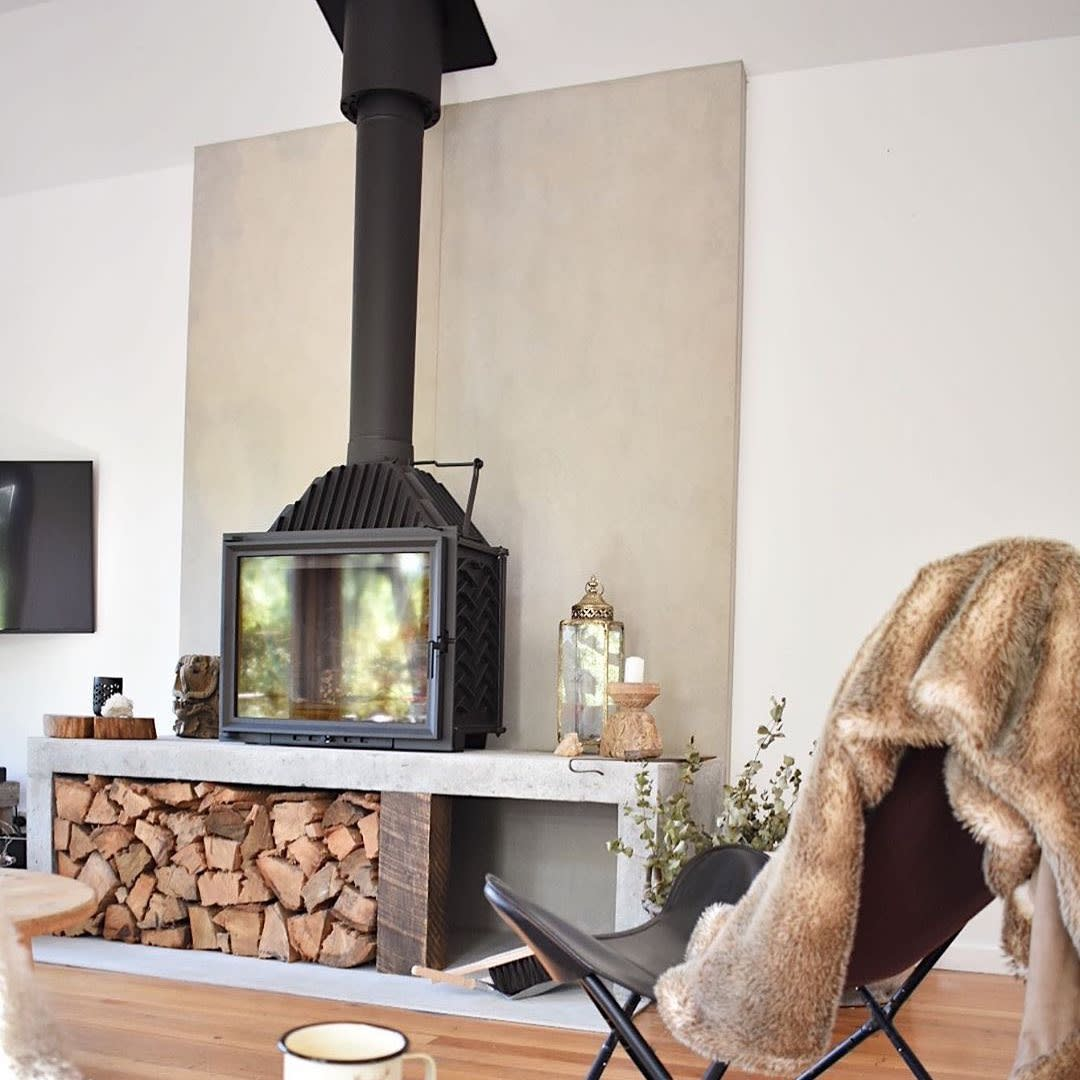 Free-stand Fireplace Hearth Ideas 2 -highland.fires.and.bbqs