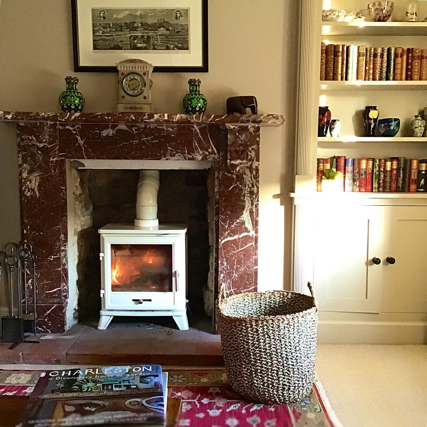 Marble Fireplace Hearth Ideas -acanthus_antiques_