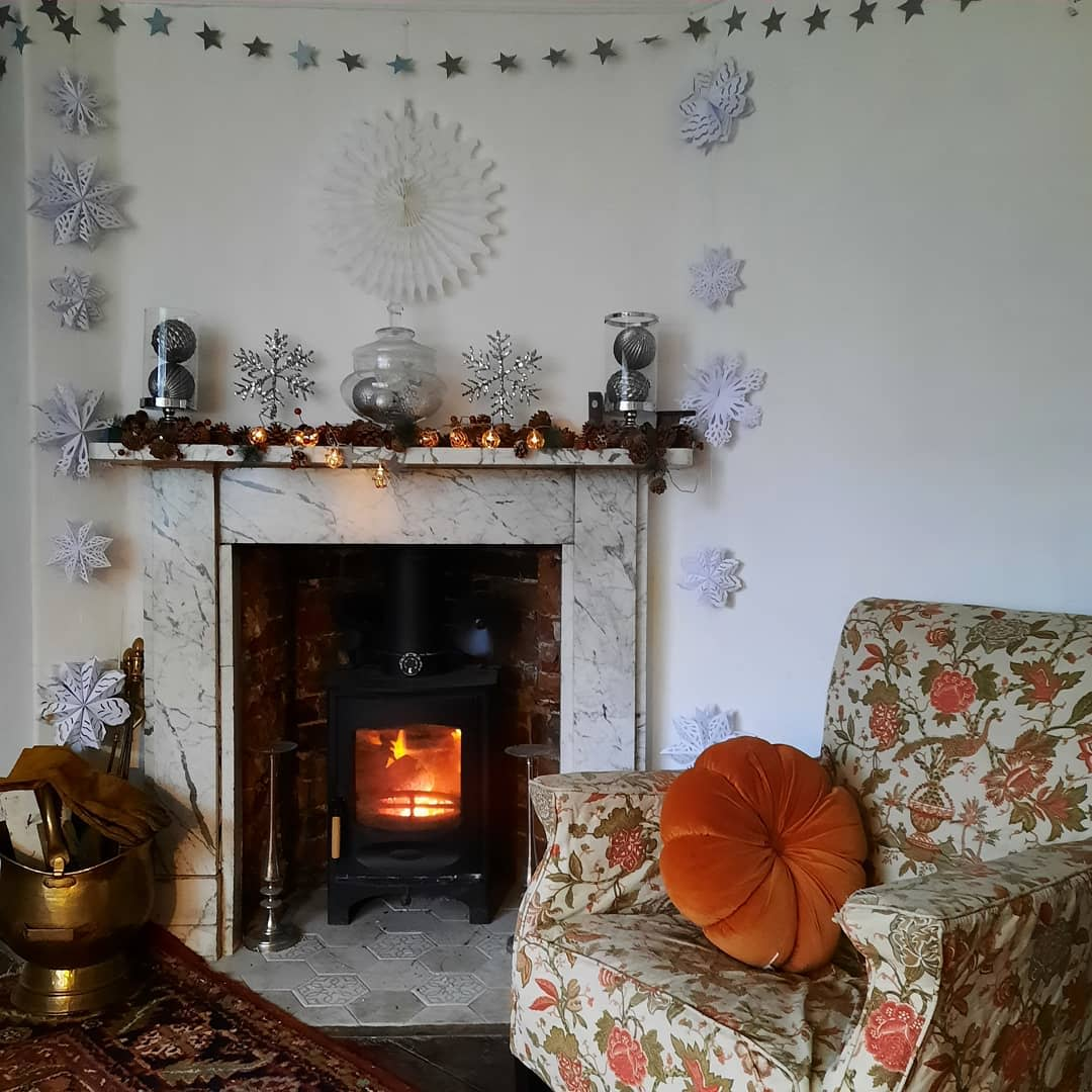 Marble Fireplace Hearth Ideas -love_littlecote