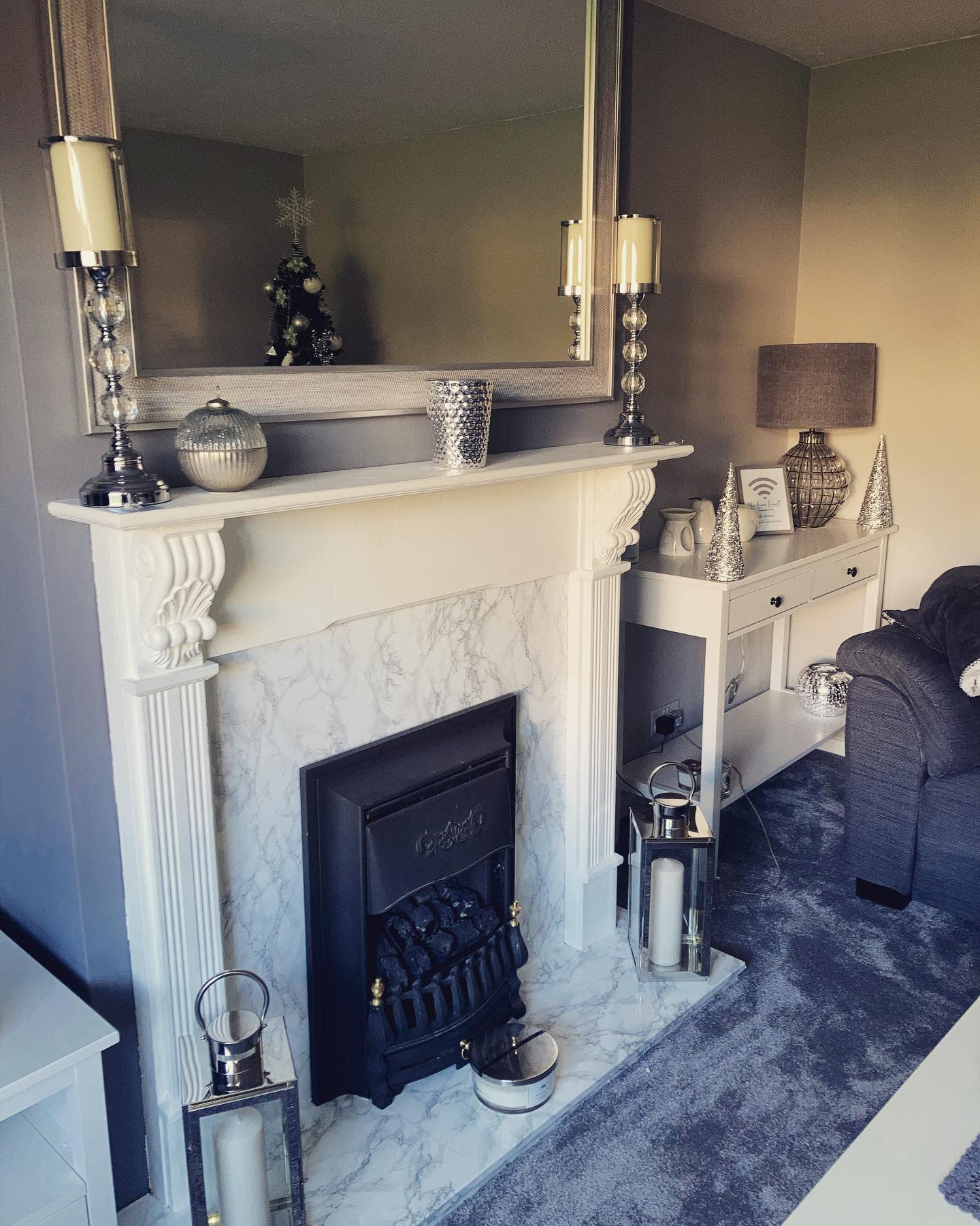 Marble Fireplace Hearth Ideas -sophs_homediary