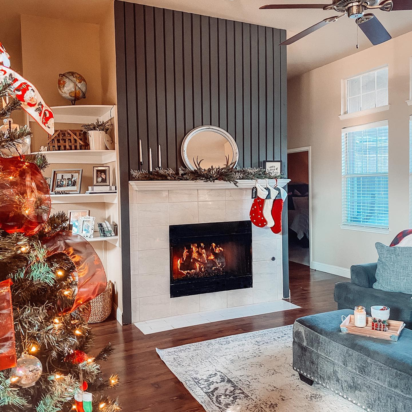 Tile Fireplace Hearth Ideas -hords_at_home
