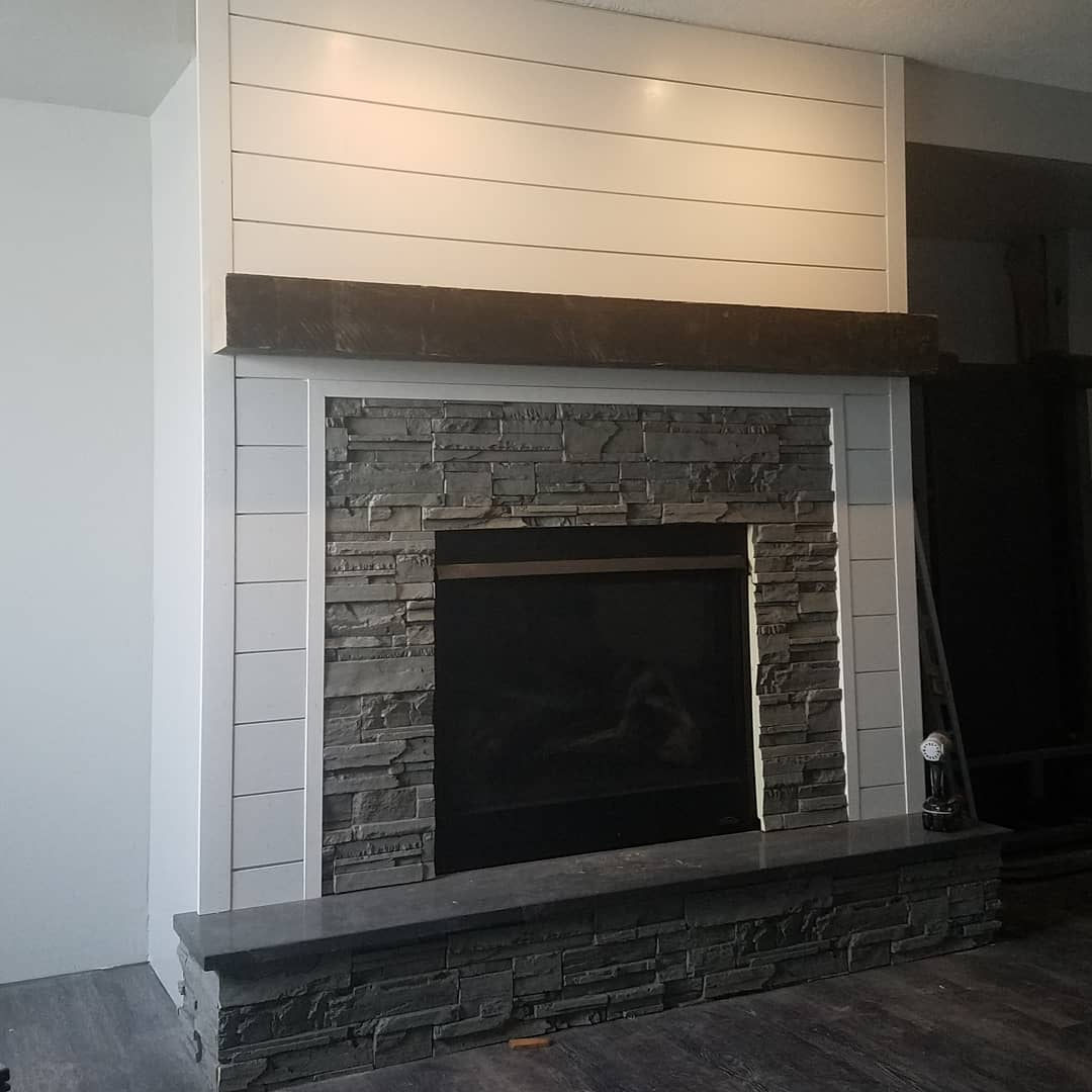 Basement Fireplace Ideas -thevintagepelican