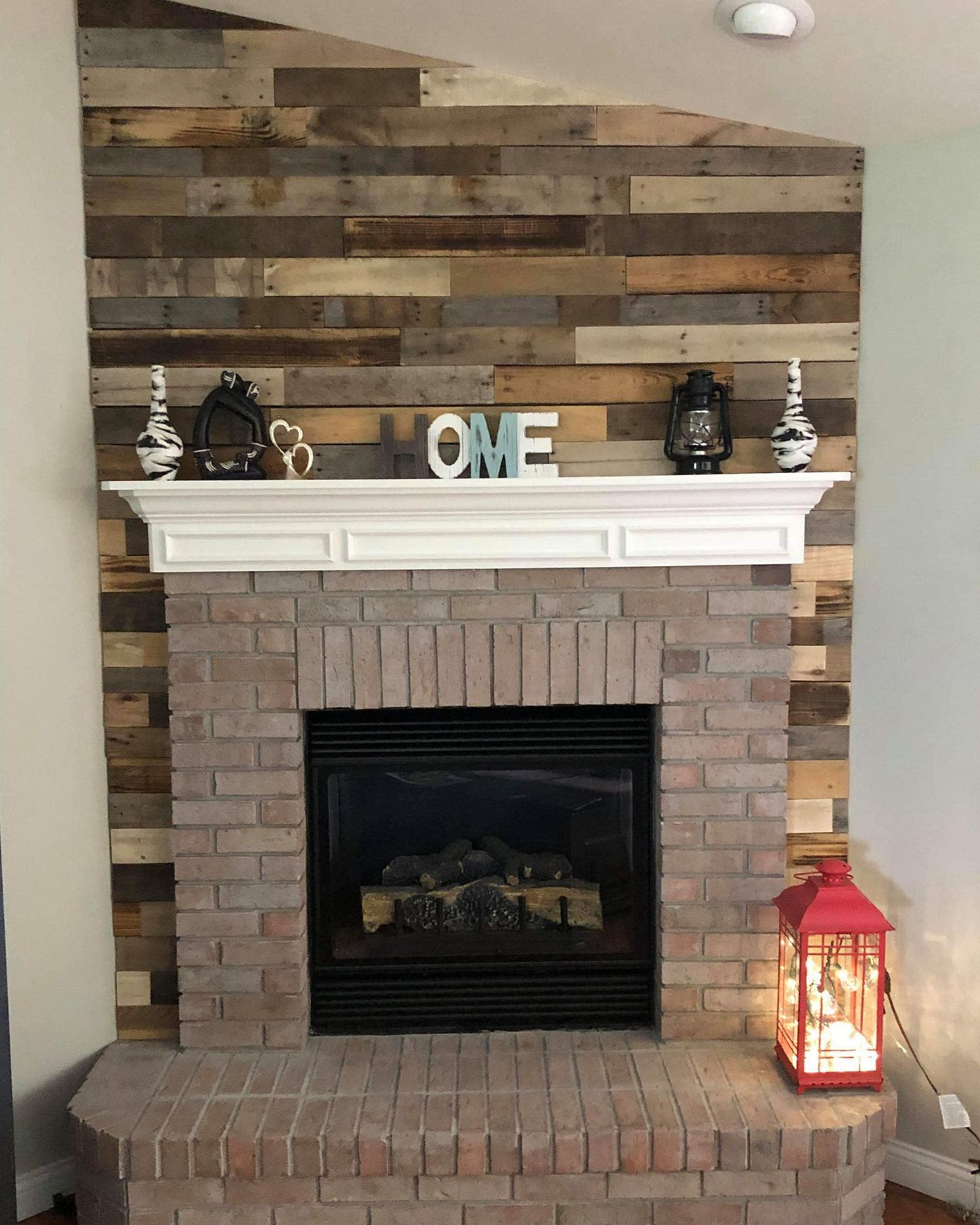 Rustic Fireplace Ideas -redfoxreclaiming