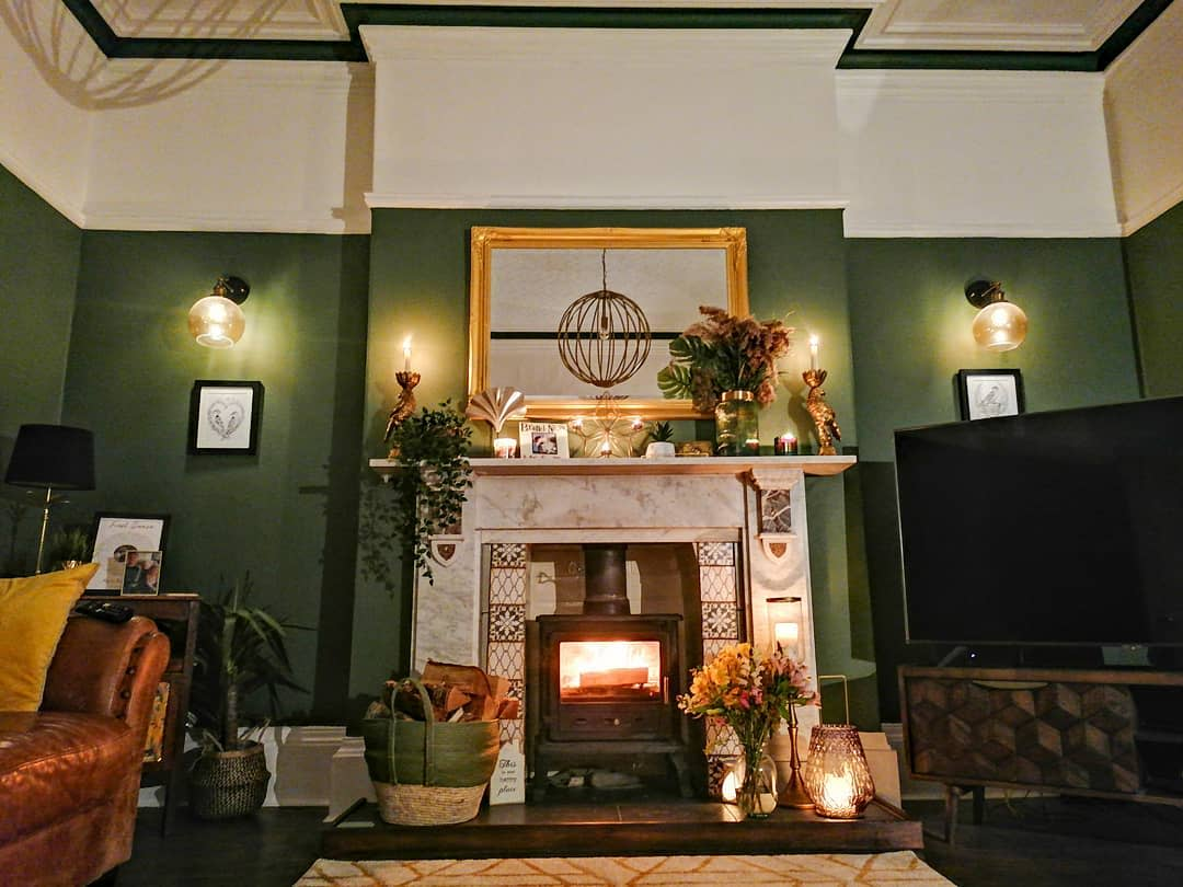 Decorative Fireplace Mantel Ideas -our_forever_home_1866