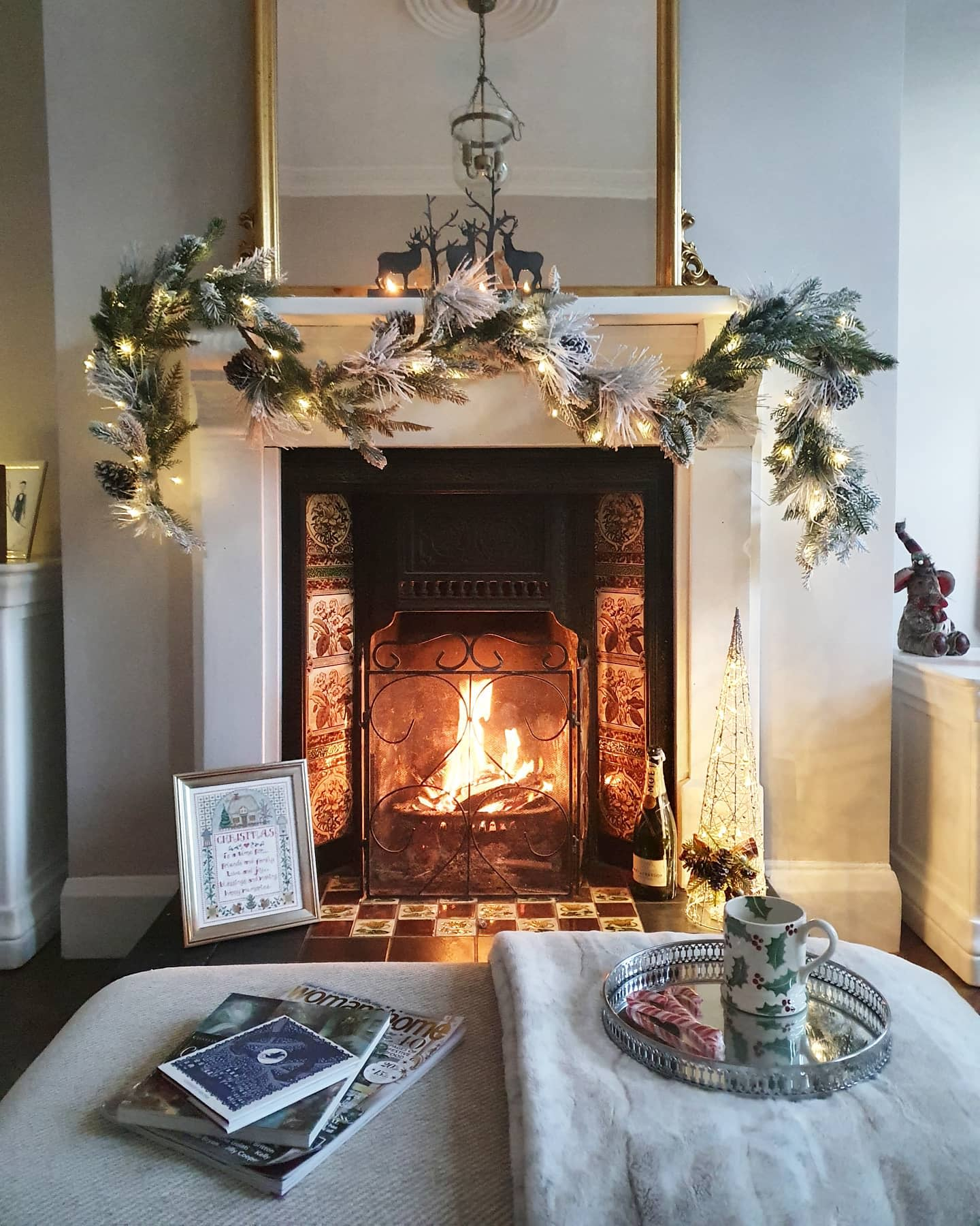 Mirror Fireplace Mantel Ideas -lucky_old_77