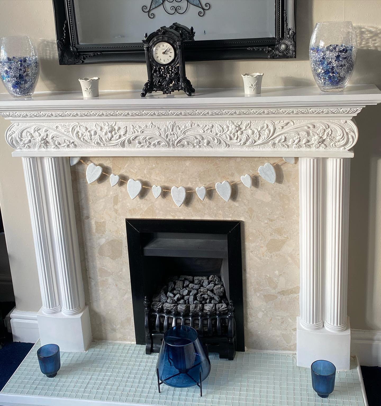 Traditional Fireplace Mantel Ideas -changing1930