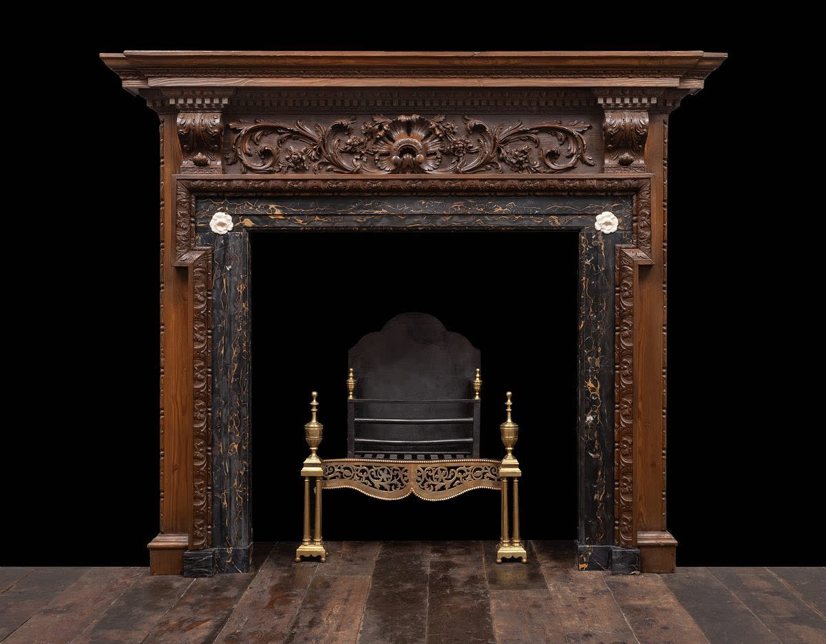 Rustic Fireplace Surround Ideas -ryanandsmith