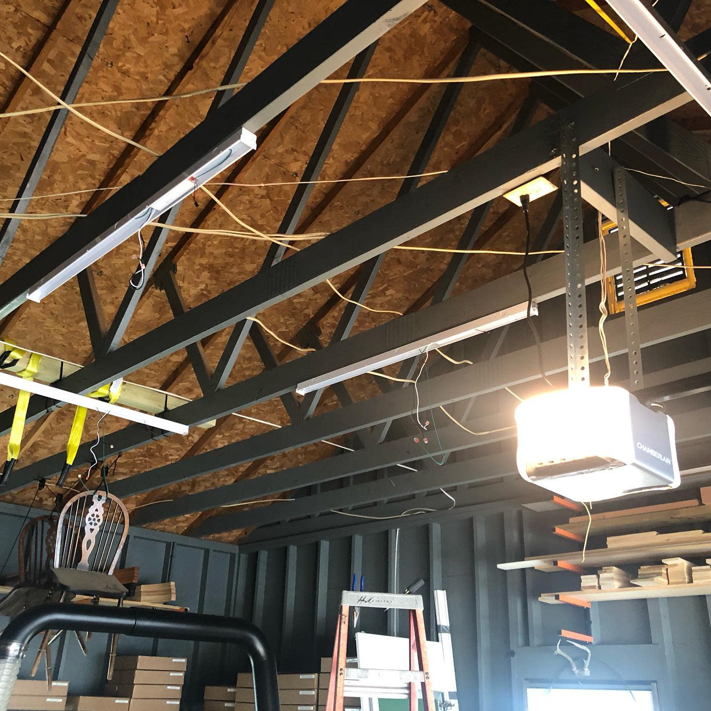 Exposed Garage Ceiling Ideas -kellyelectricservicesllc