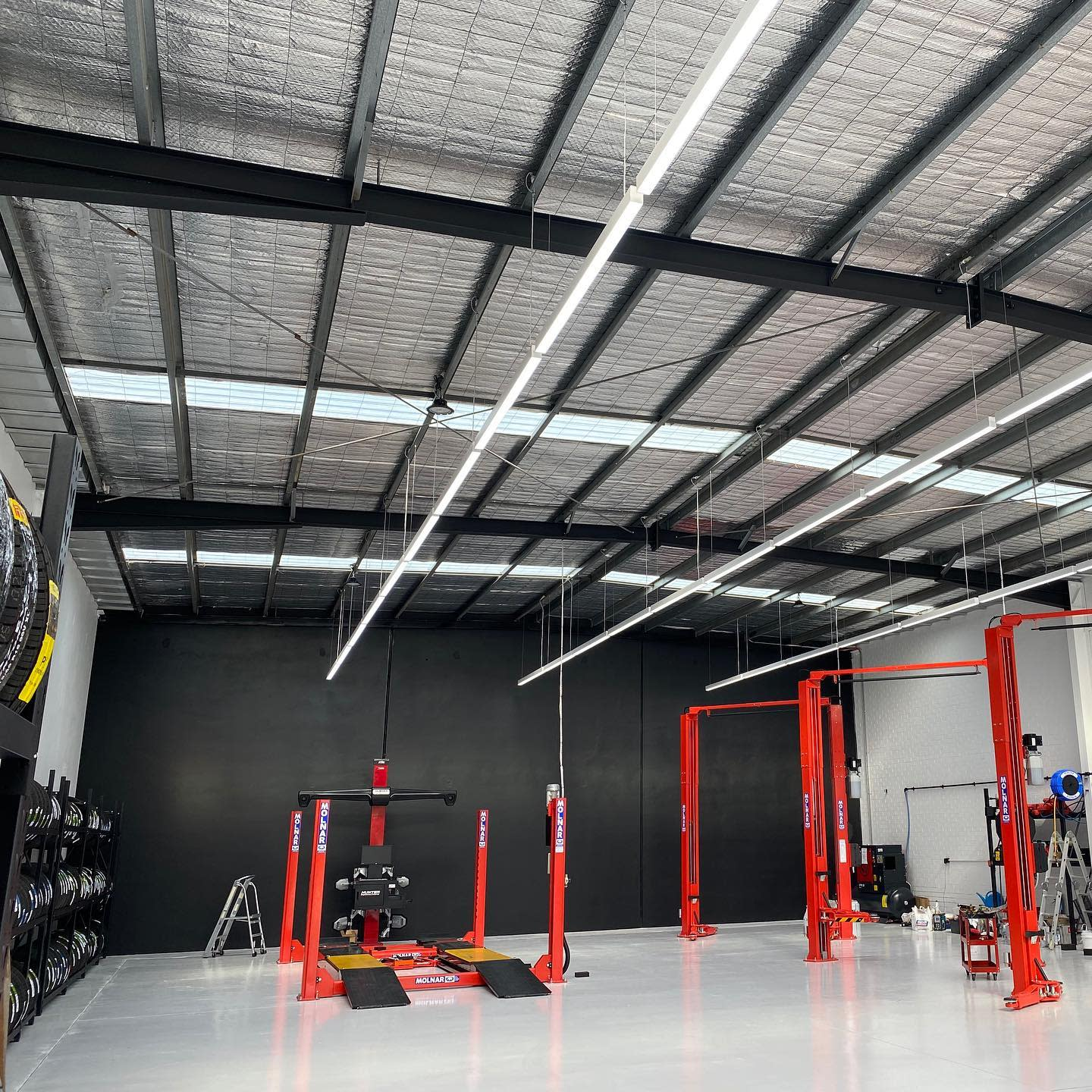 Metal Garage Ceiling Ideas -point.electrical