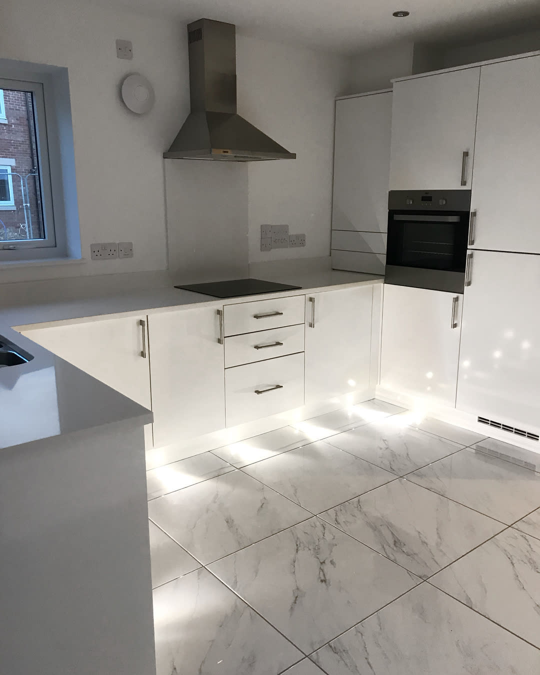 Marble Kitchen Flooring Ideas -the_buttercup_home