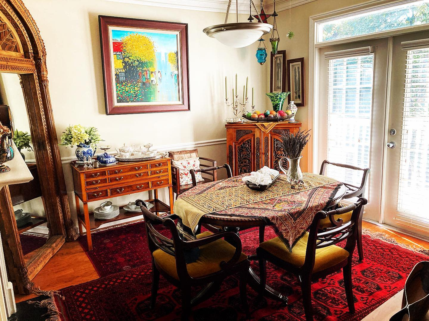 Rustic Small Dining Room Ideas -corcoran_woodcock