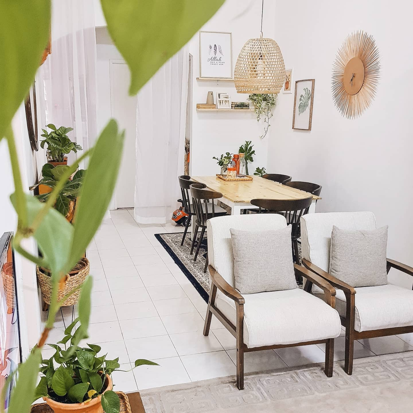 White Small Dining Room Ideas -therumah06