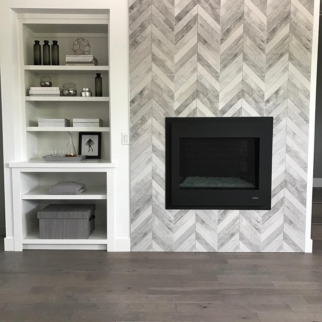 Fireplace Feature Wall Accent Wall Ideas for Living Room -shadowcreekhomes
