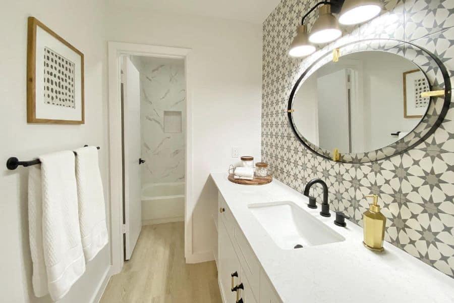 The Top 56 Bathroom Backsplash Ideas