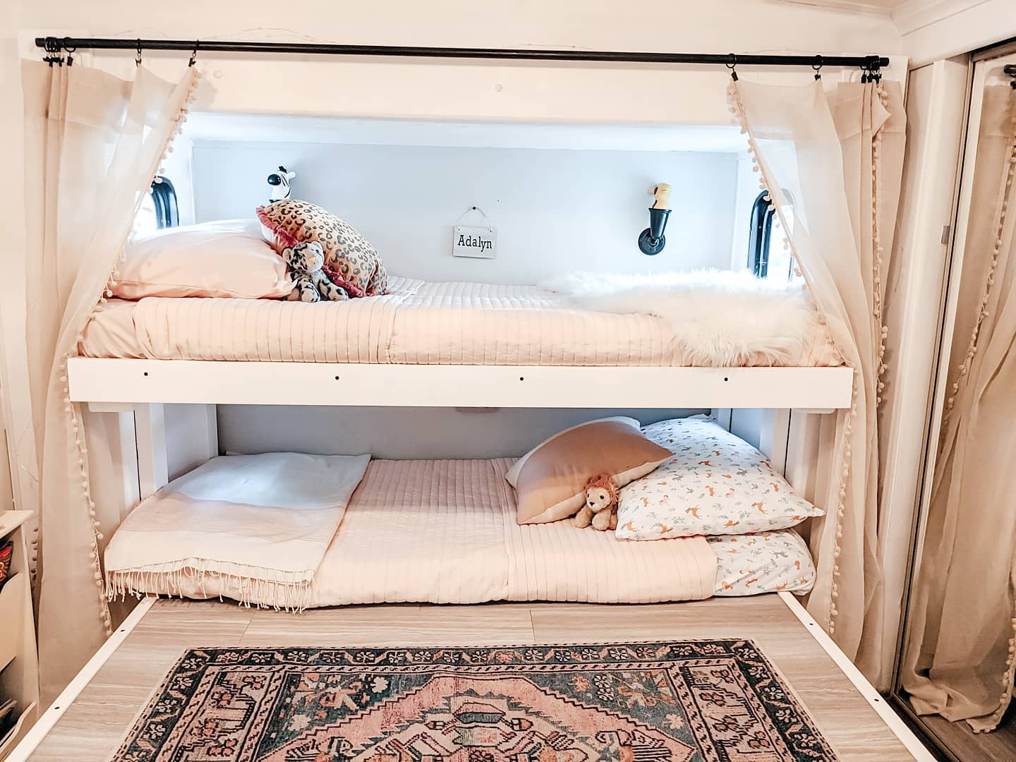 Decor Bunk Bed Ideas -twinning_in_our_5thwheel