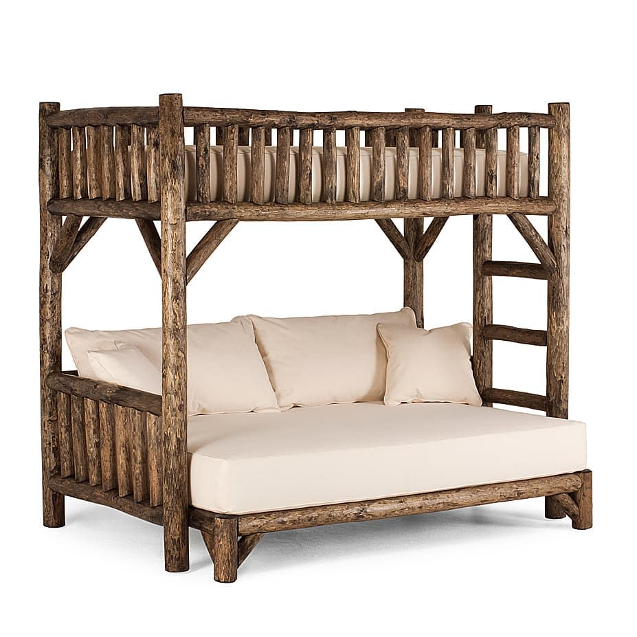 Rustic Bunk Bed Ideas -lalunecollection