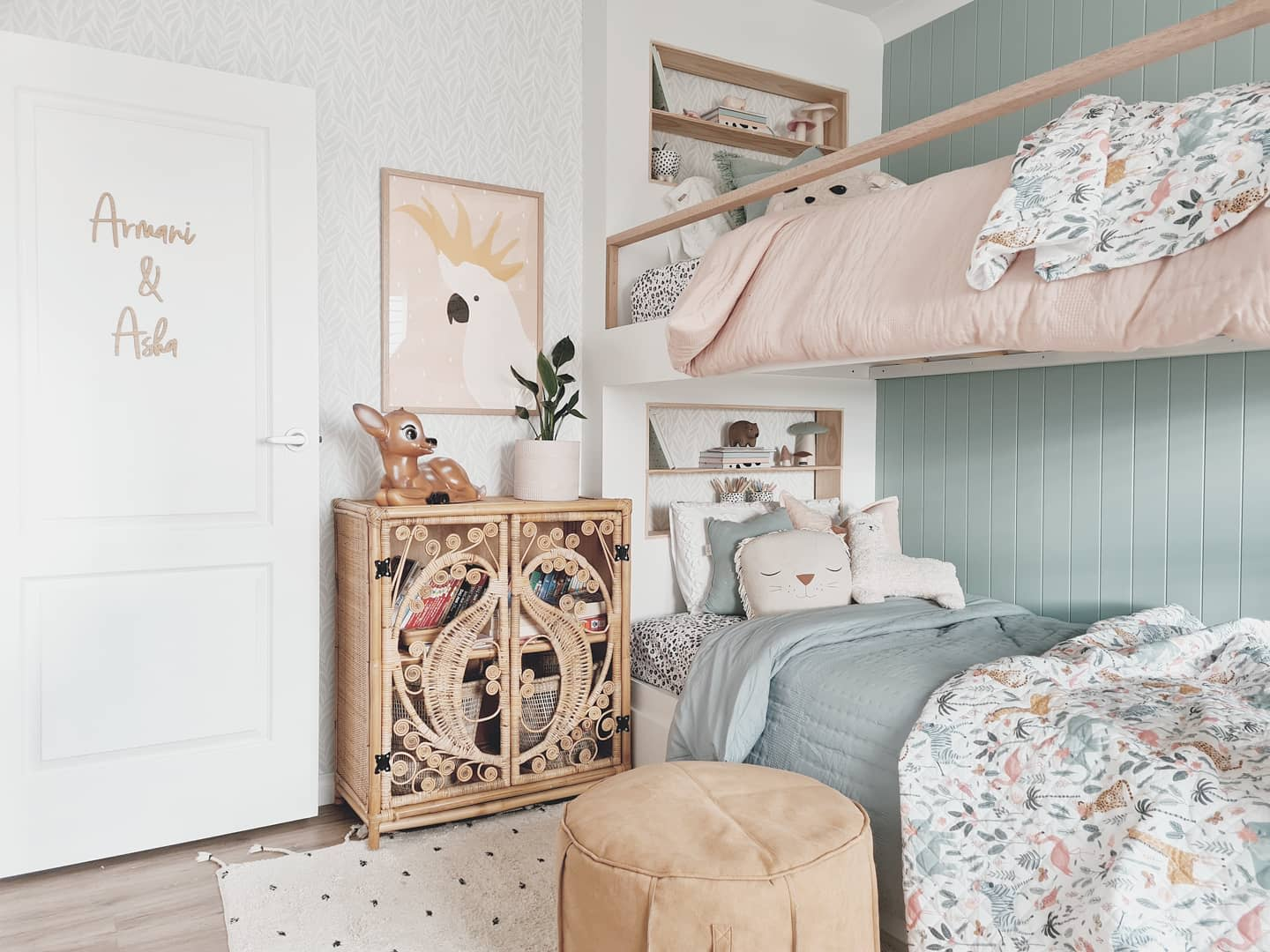Teenager Bunk Bed Ideas -three.little.poppies