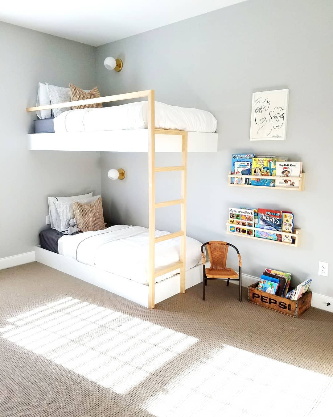 Wall Bunk Bed Ideas -mbdesignconcepts