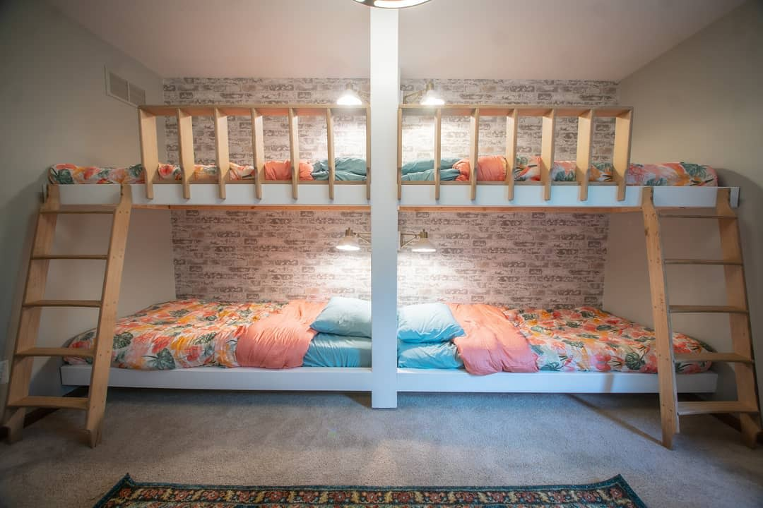Wall Bunk Bed Ideas -thewoodworklife