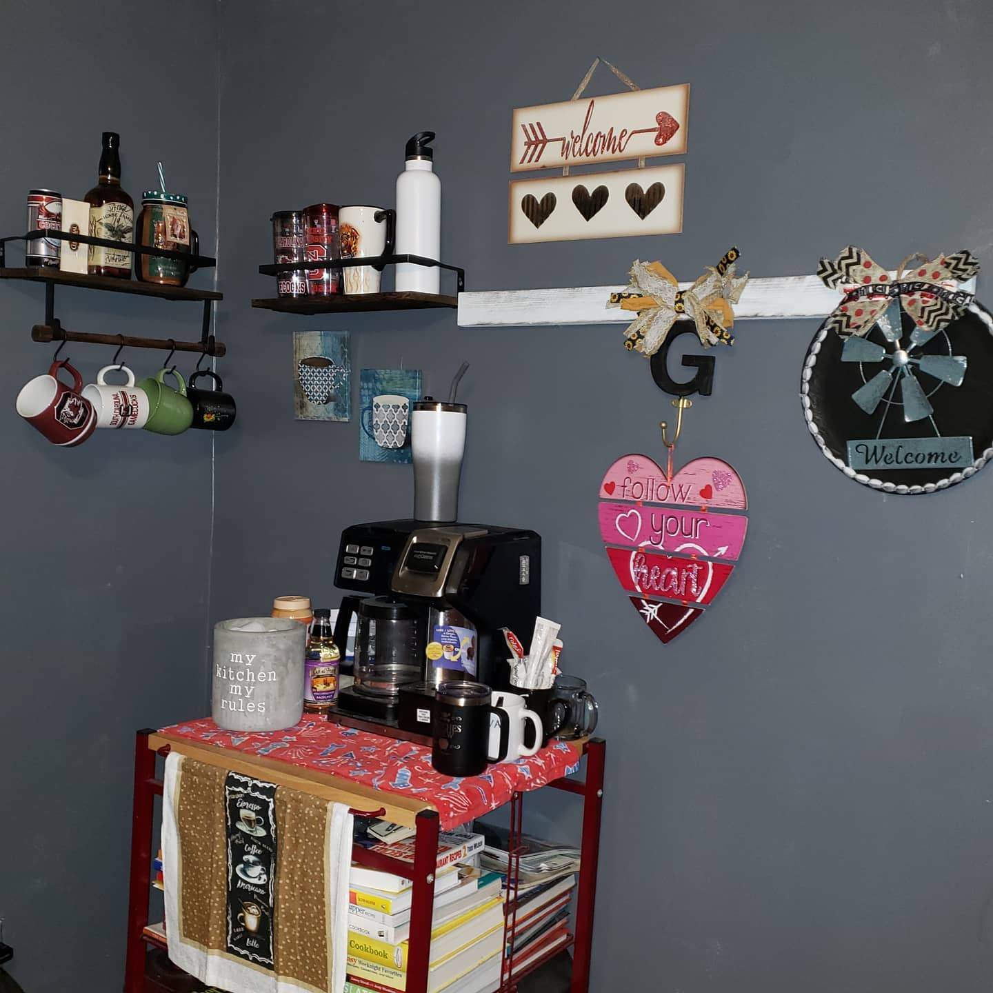 DIY Coffee Bar Ideas -cooking_with_sherry