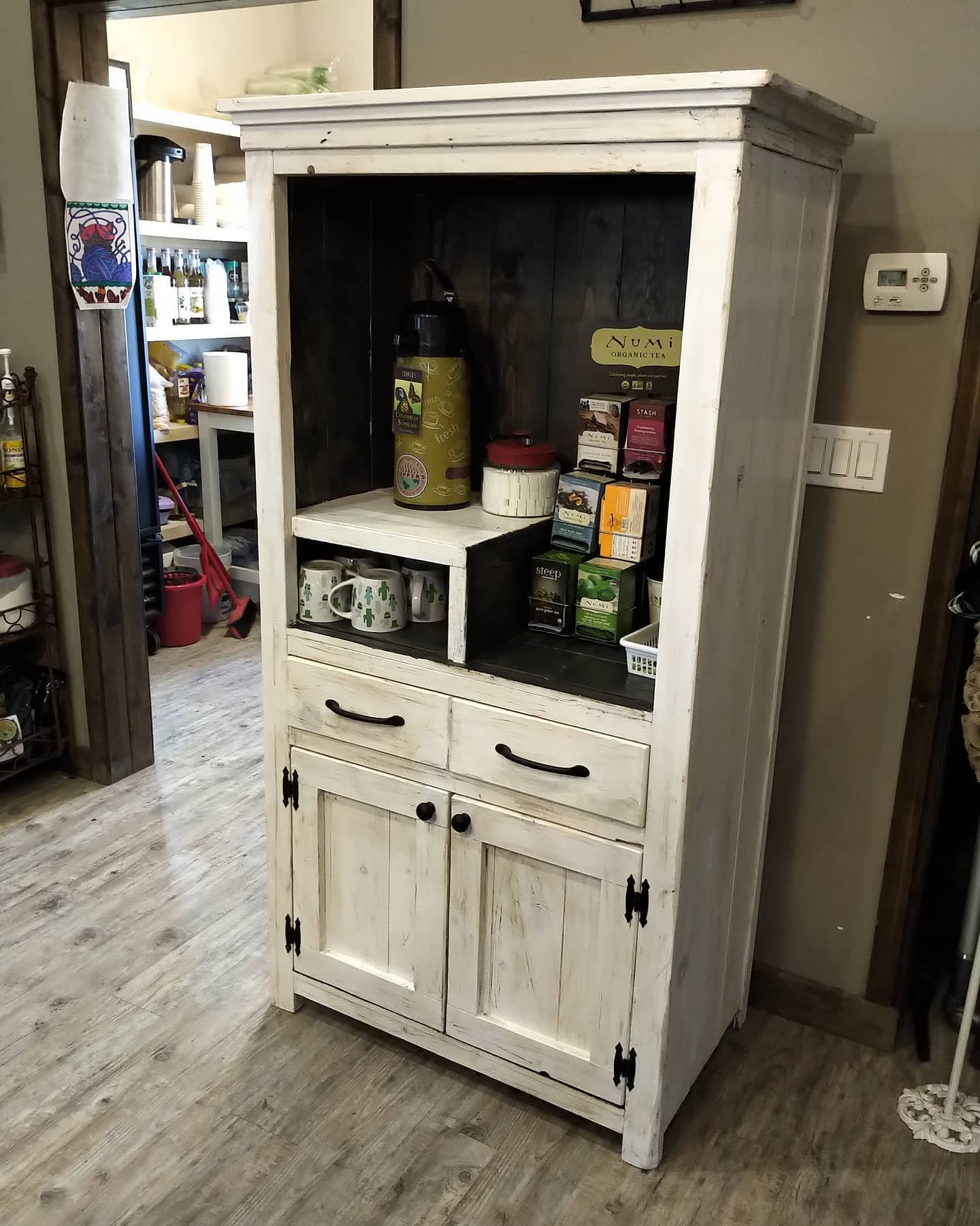 Rustic Coffee Bar Ideas -country_strong_furniture