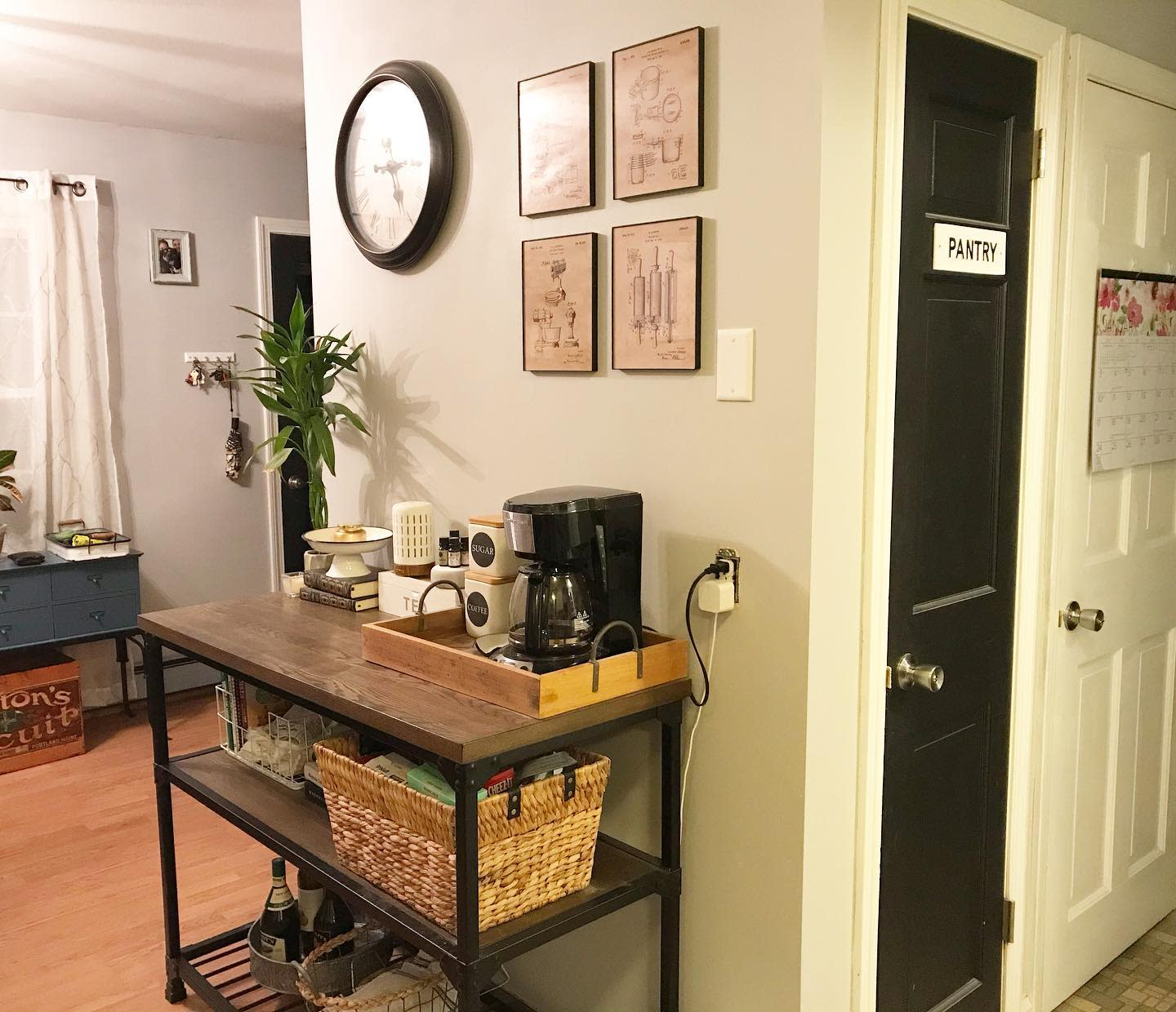 Small Coffee Bar Ideas -oldlyme_newdesign