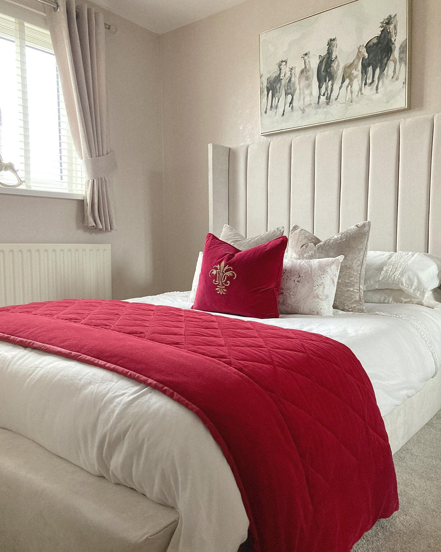 Master Country Bedroom Ideas -mrs_savs_home