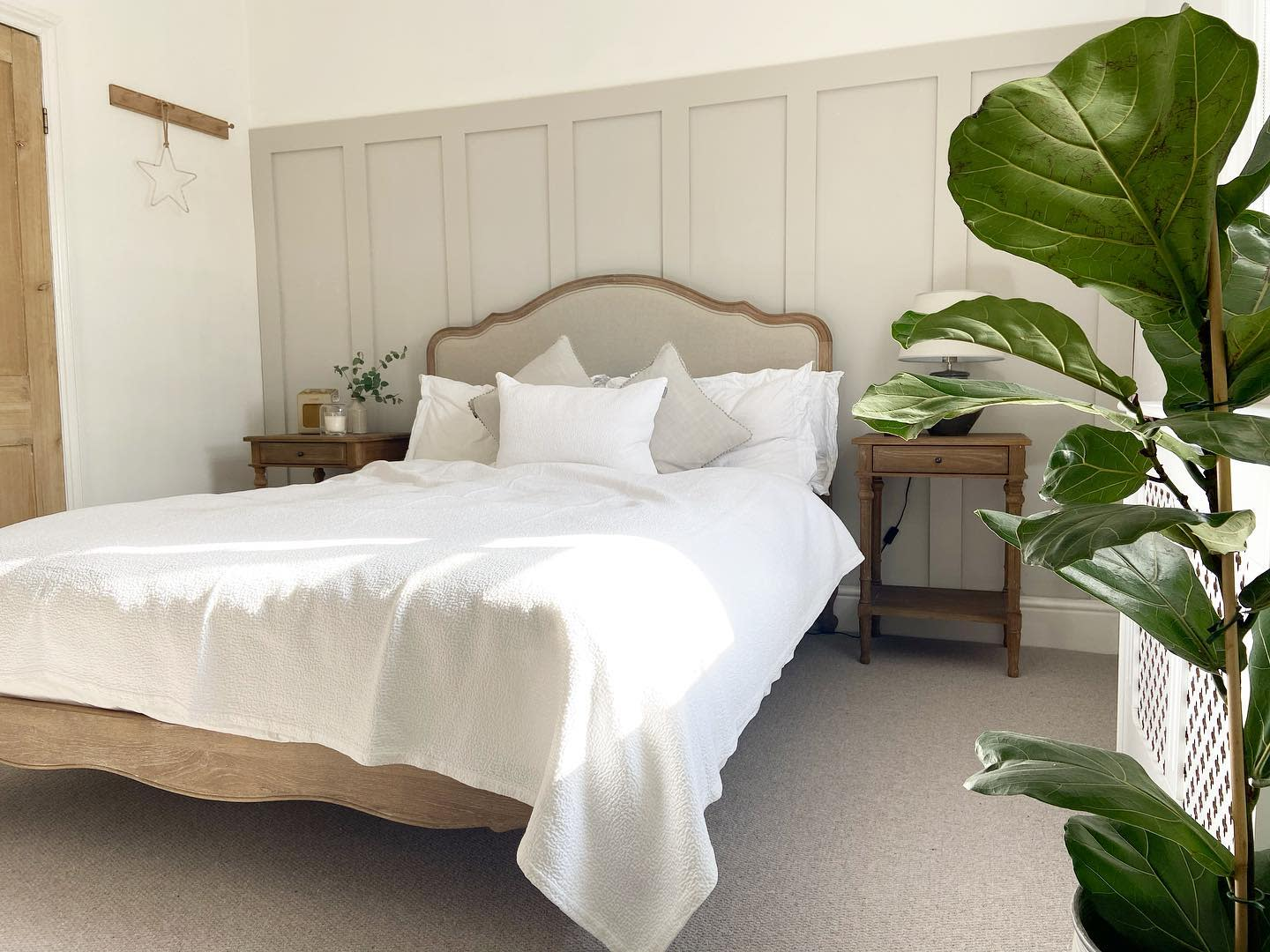 Modern Country Bedroom Ideas -ouroxfordshirevictorianterrace