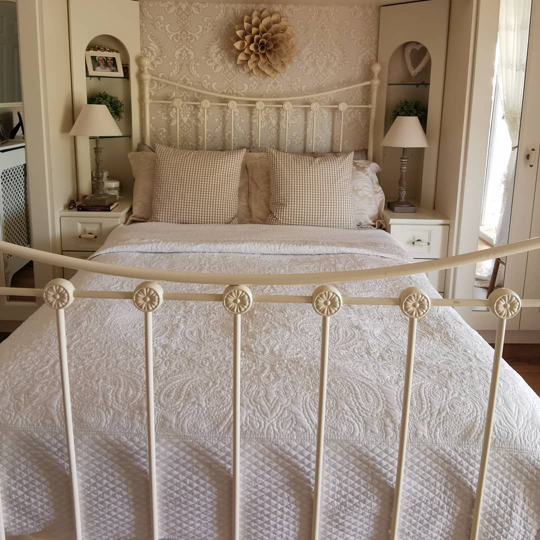 Neutral Country Bedroom Ideas -ahappyandaproudhome