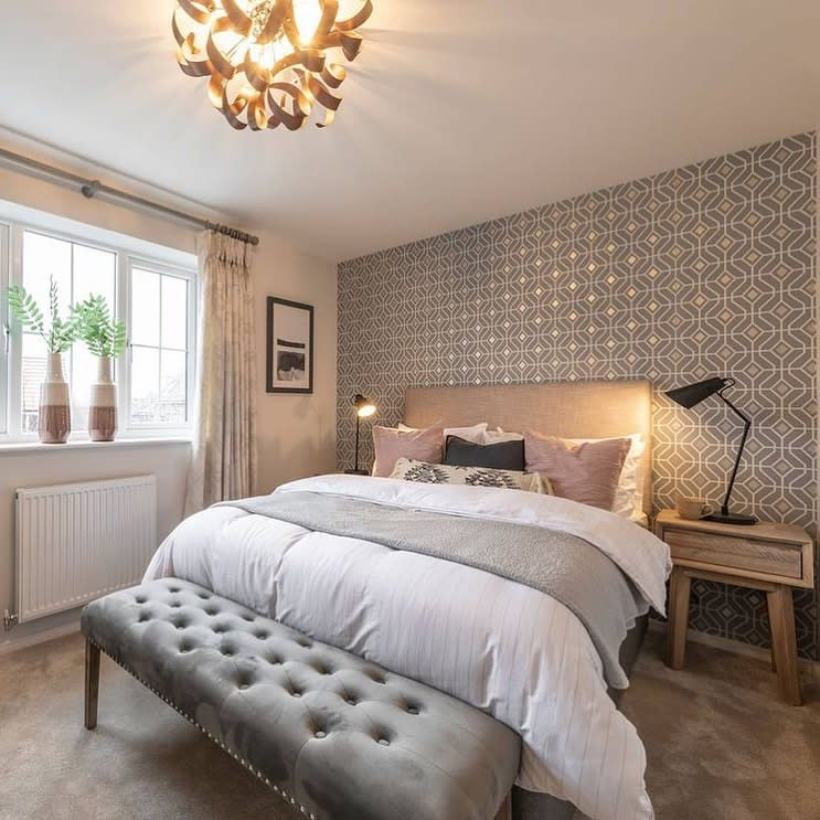 Neutral Country Bedroom Ideas -allthingshomestyle