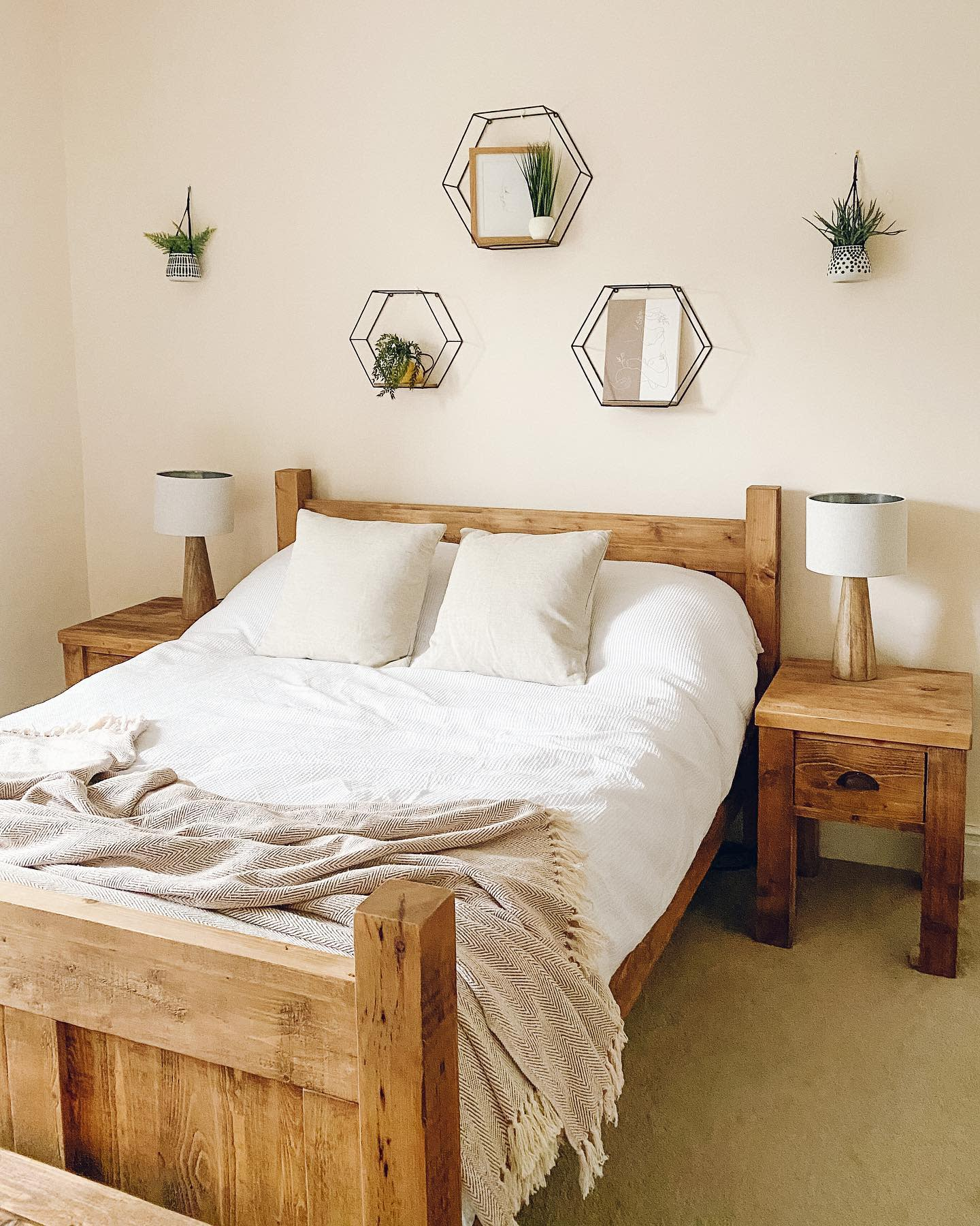 Neutral Country Bedroom Ideas -lifeatolddenehouse
