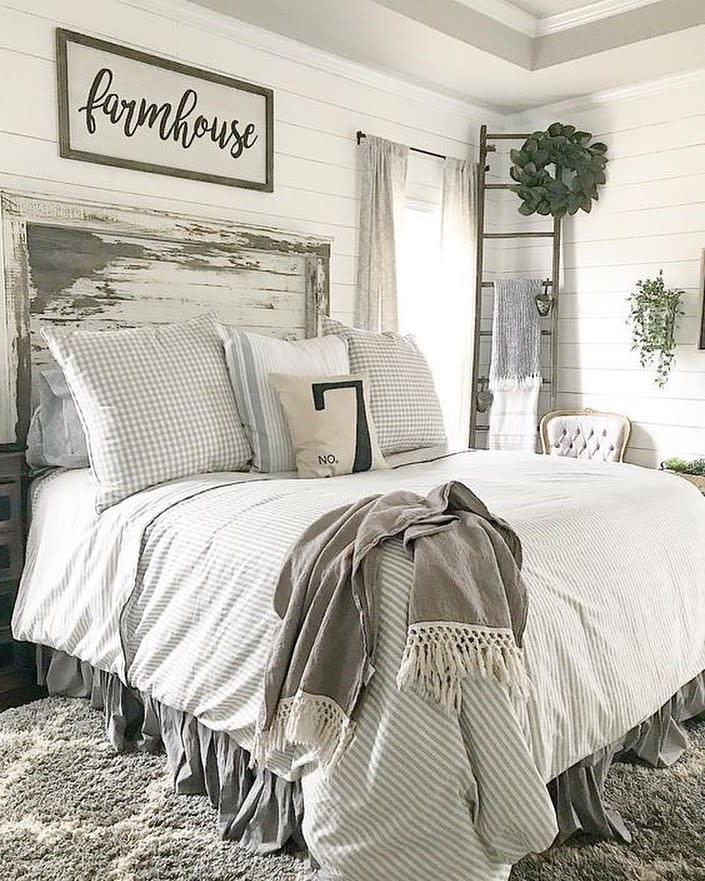 Rustic Country Bedroom Ideas -k_lovelyhomes
