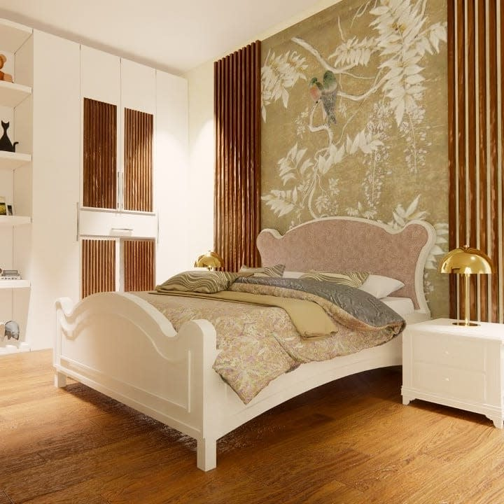 Vintage Country Bedroom Ideas -thespacestylists
