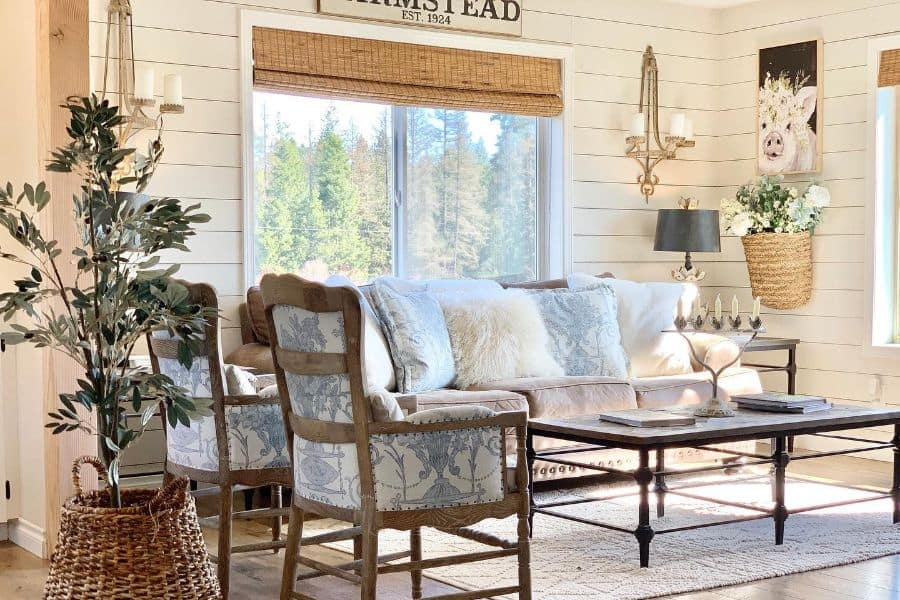 The Top 39 Country Living Room Ideas