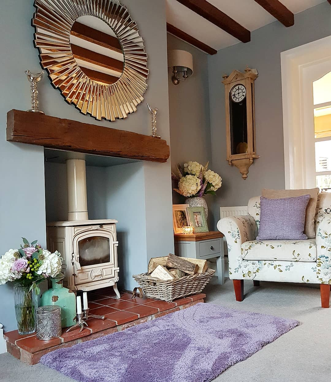 Decor Country Living Room Ideas -kirstyscottage_life