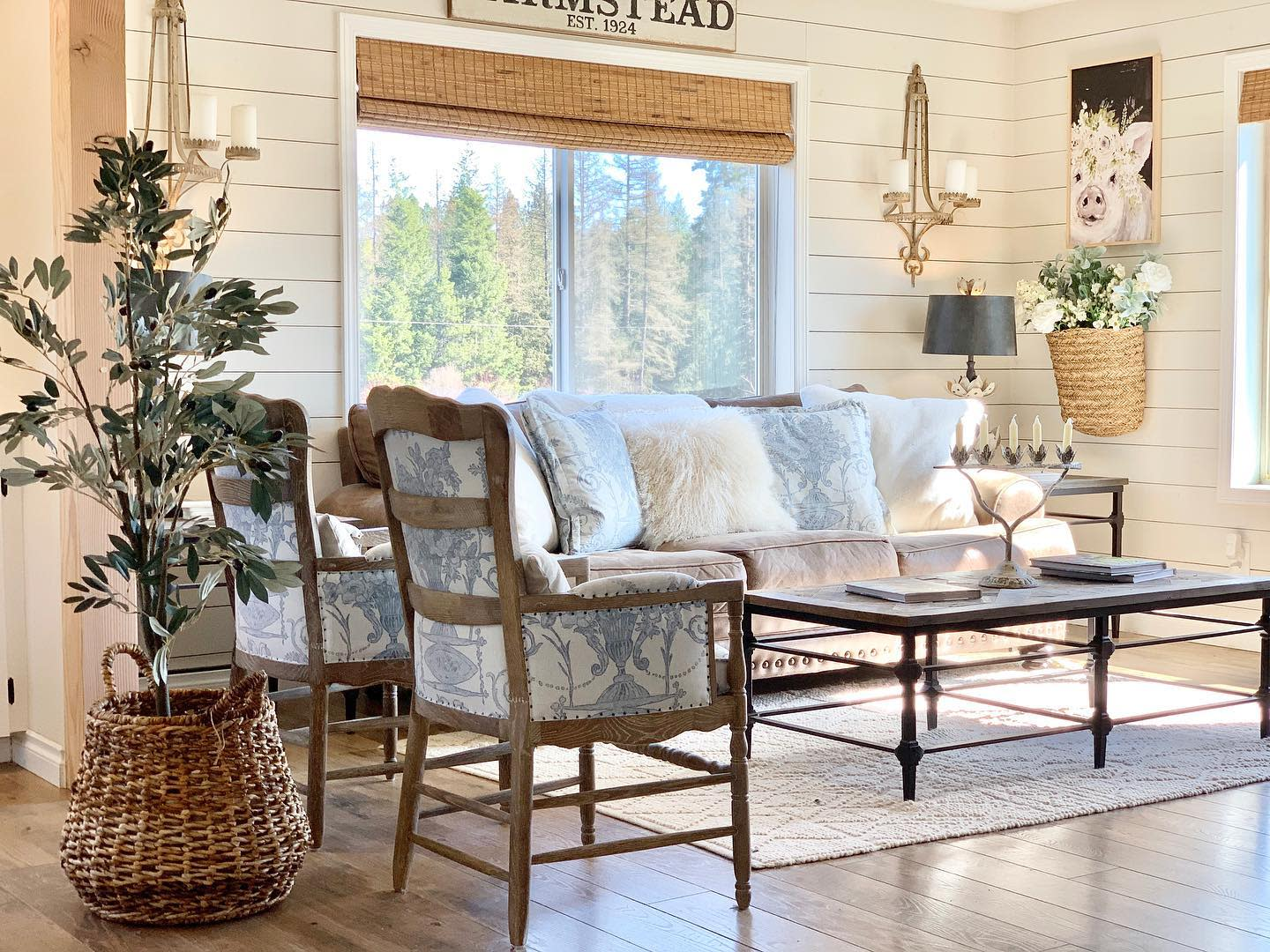 French Country Living Room Ideas -_panhandle_cottage_