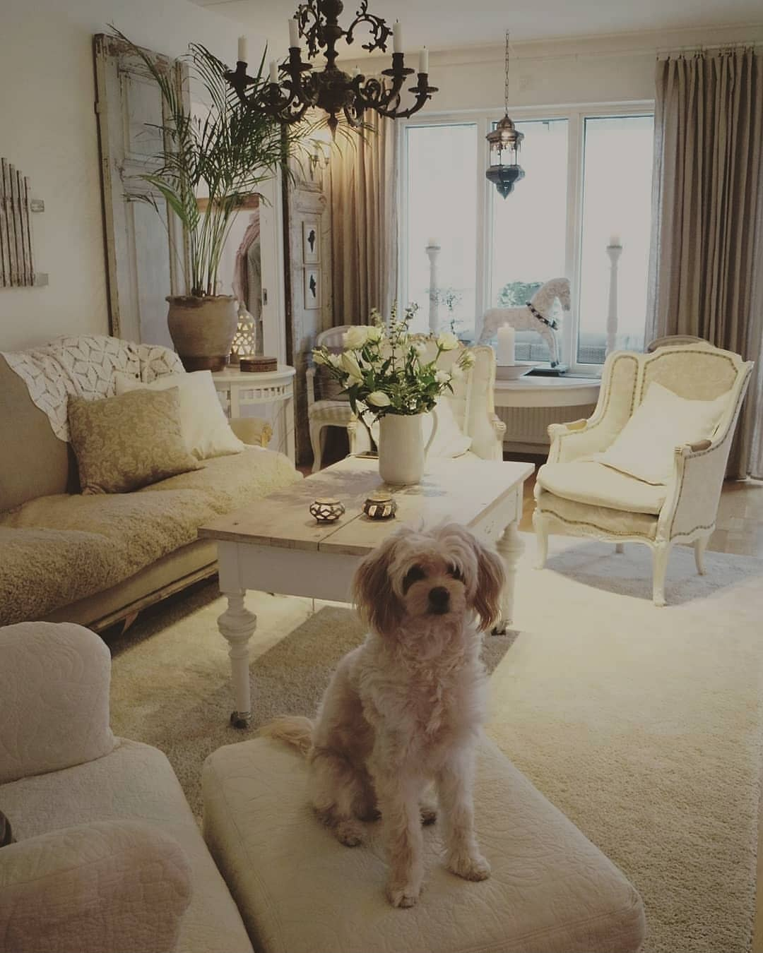 French Country Living Room Ideas -inglish_home_and_garden