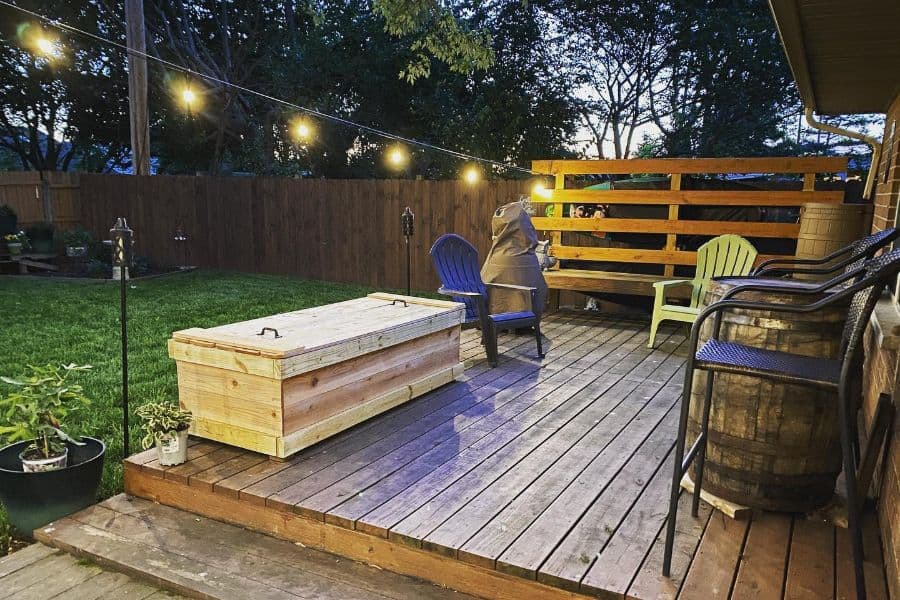 The Top 43 Deck Bench Ideas