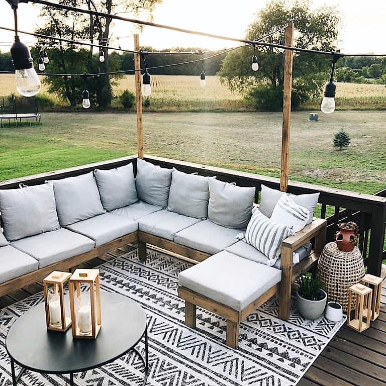 Custom Deck Bench Ideas -west_and_co