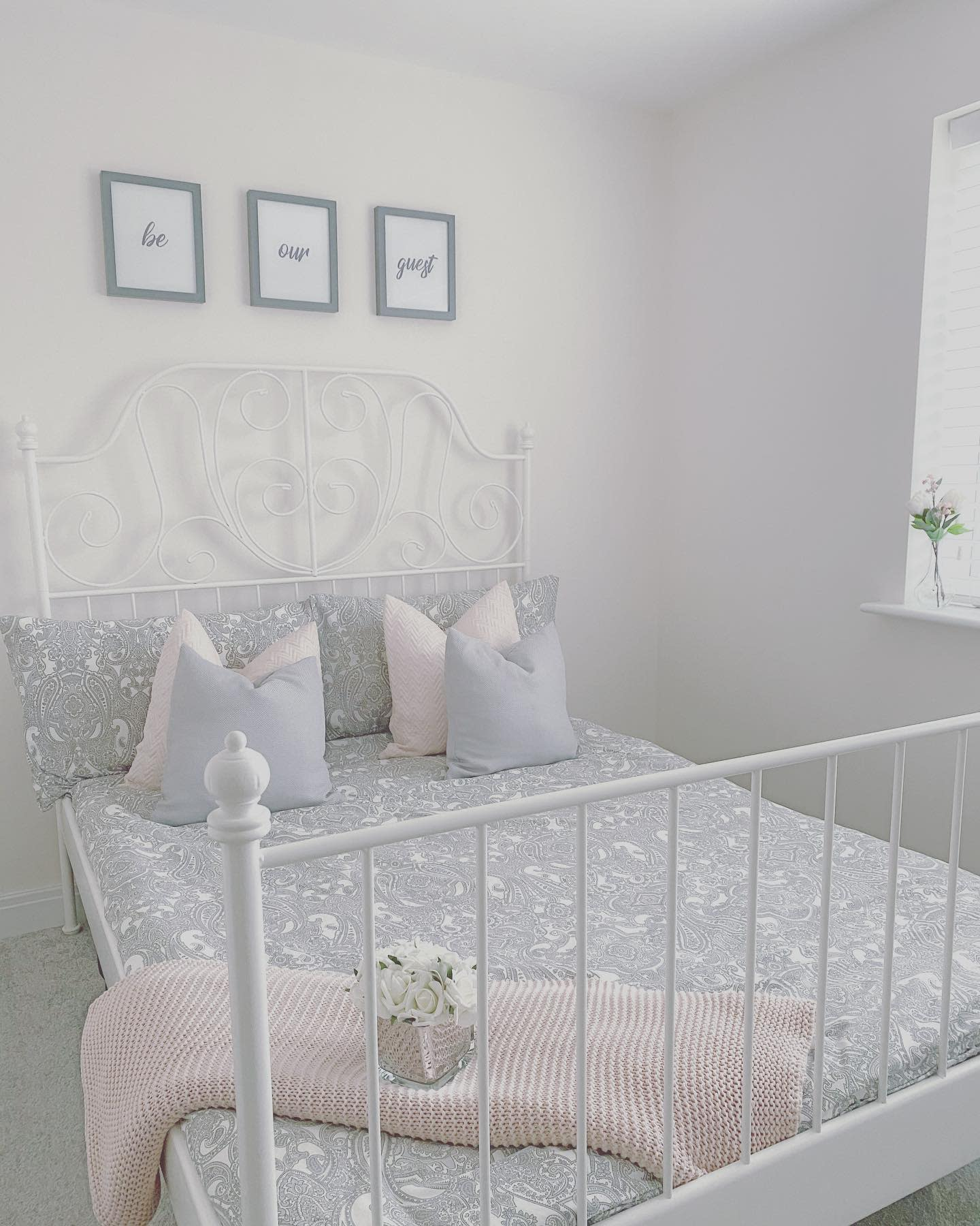 Guest Grey Bedroom Ideas -our_nelson_home