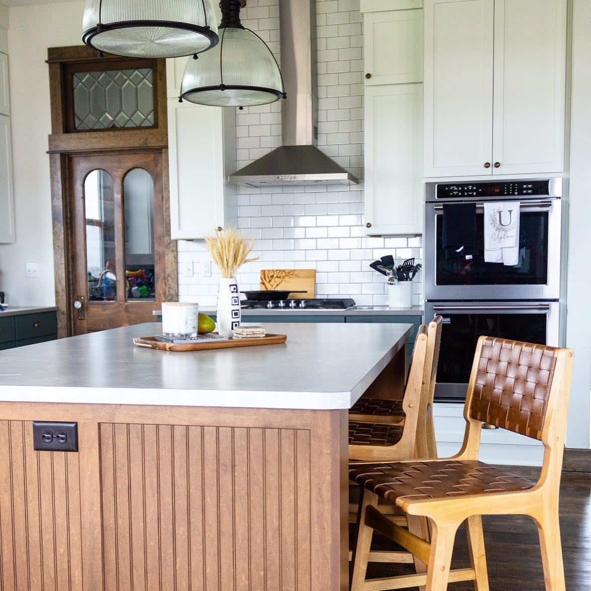 Chimney Kitchen Hood Ideas -the_patinaed_place