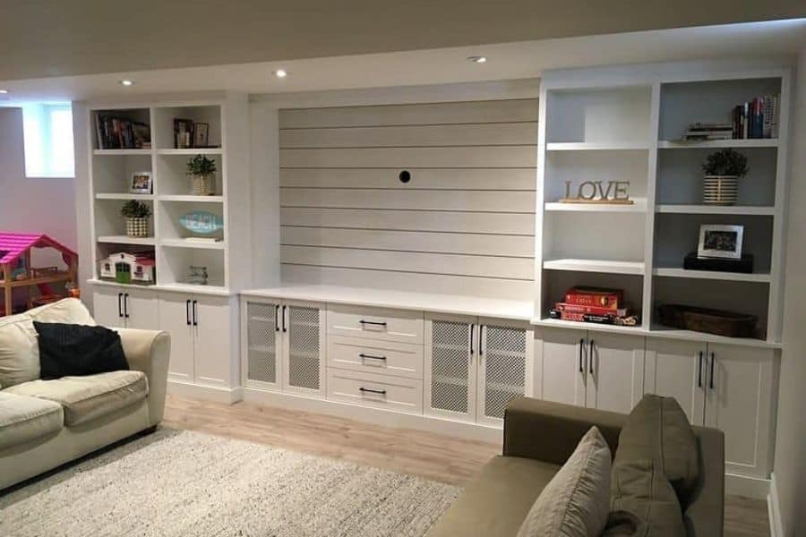 The Top 55 Living Room Storage Ideas