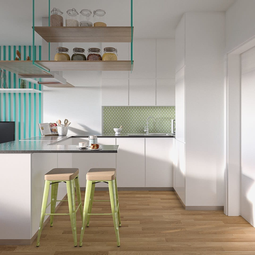 Compact Modern Kitchen Ideas -projectimmo