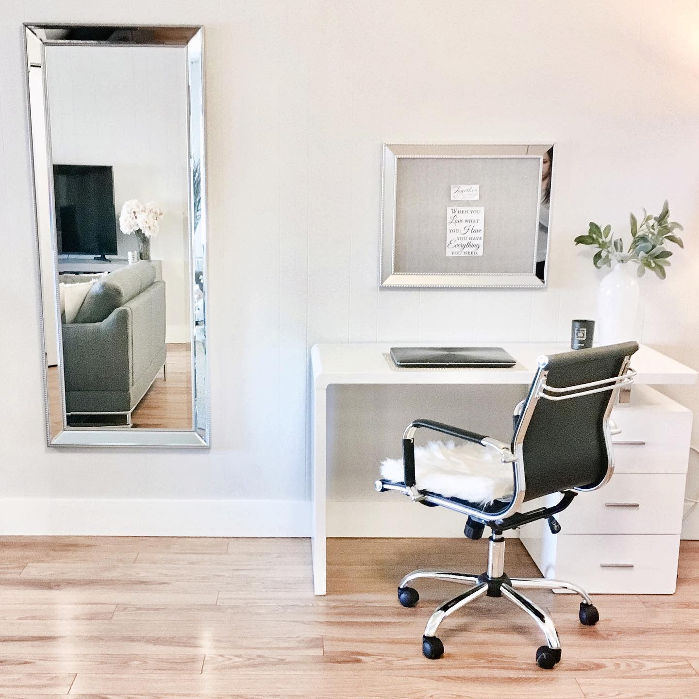 Chair Small Office Ideas -evelynrosedesign